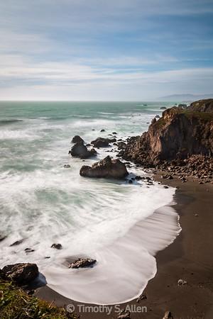 Ocean Wave in Slow Motion