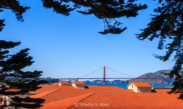 The Golden Gate from Fort Mason