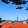 Golden Gate Bridge from Fort Mason