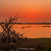 Sunset on the Wetlands