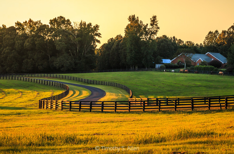 Georgia Country Sunset