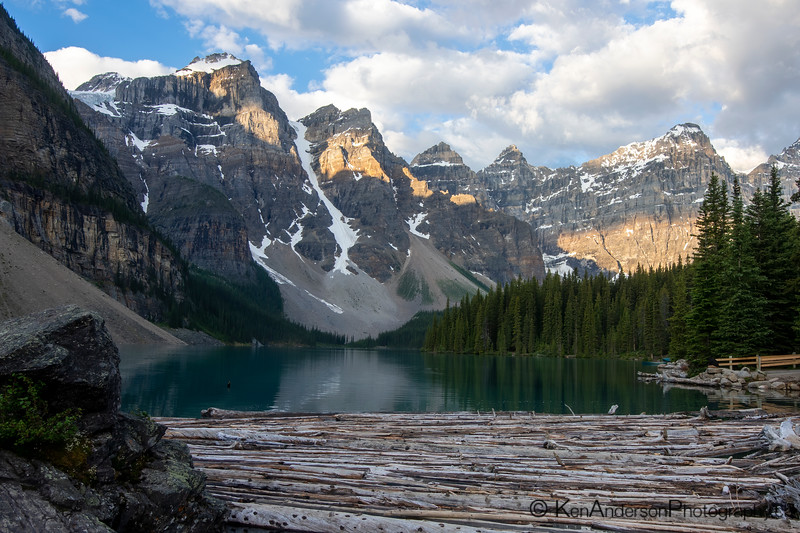 Valley of the Ten Peaks - Moraine Lake