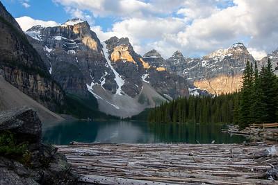 Valley of the Ten Peaks - Moraine Lake