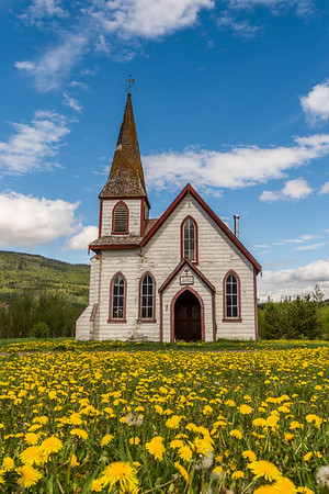 St. Paul's Anglican Church in Gitwangak