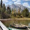 Tetons canoes