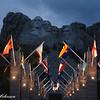 Mt. Rushmore night ceremony