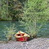 Red McKenzie River Drift Boat