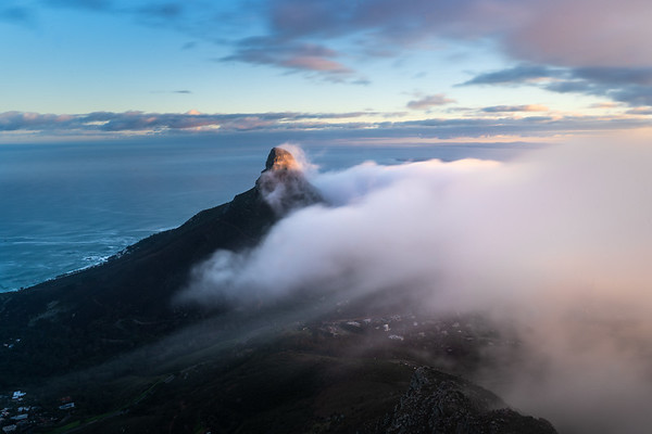 Lions Head fog, 2020