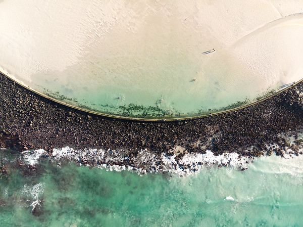 Strandfontein tidal pool, 2020