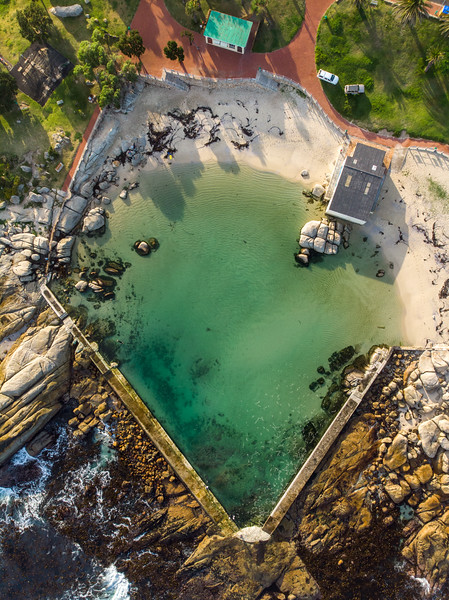 Camps Bay tidal pool, 2020