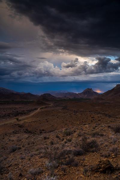 Stormlight, Weltevreden Valley in the Karoo, Prince Albert, South Africa