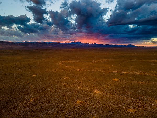 To the light, Karoo, South Africa