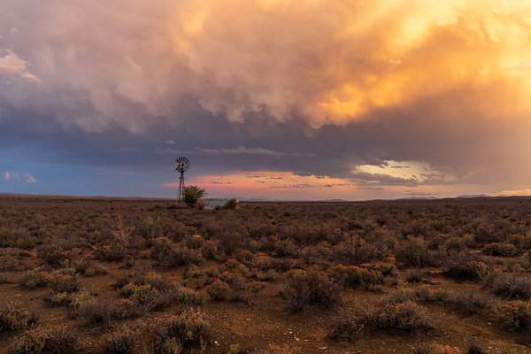 Storm Chase, Karoo, Prince Albert, South Africa