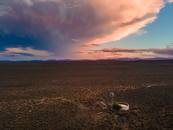 After the storm, Karoo, South Africa