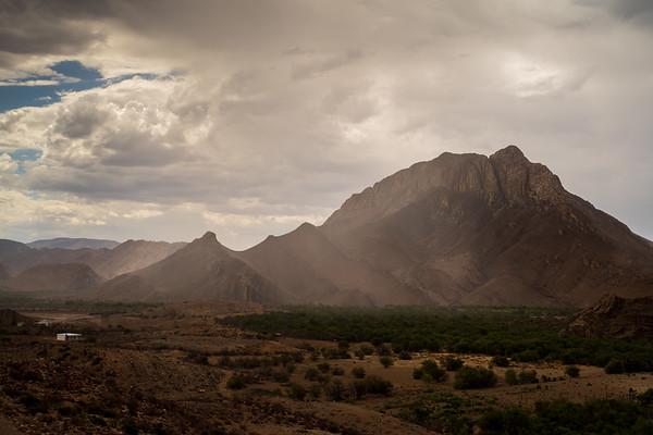 Sandstorm, Weltevreden Valley,  Karoo, Prince Albert, South Africa
