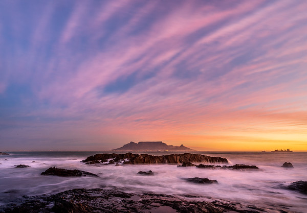 Sunset at Blouberg 2020