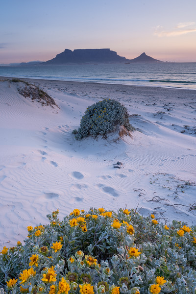 Spring sunset, Dolphin Beach, Cape Town 2020