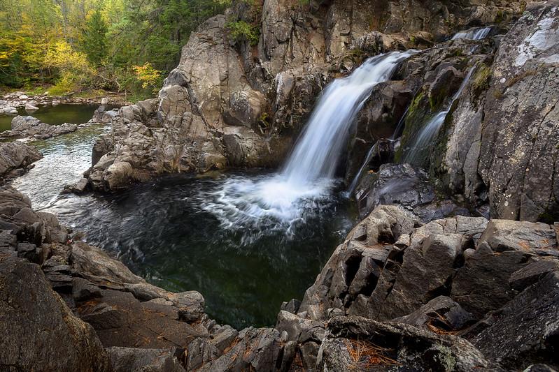 Fall with Split Rock Falls