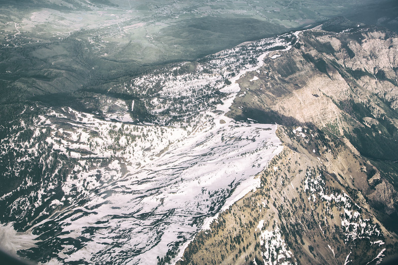 Over Ben Lomond Peak in Utah