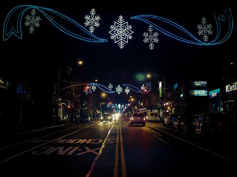 Street Scene - Park Slope - X-Mas 2015