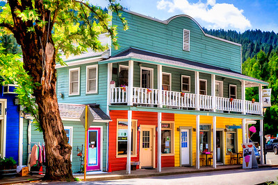 Downieville shops