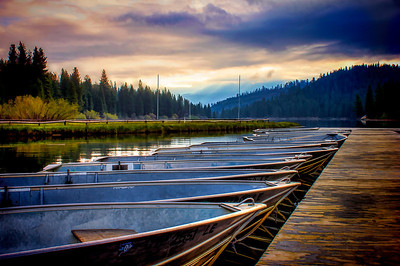 Hume Lake Boats