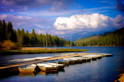 Hume Lake Boat Dock