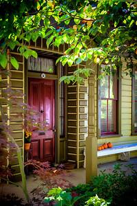 Nevada City front door