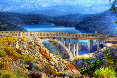 Donner Lake, Old Highway 40 Rainbow Bridge