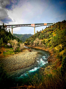 North Fork American River, Foresthill Bridge