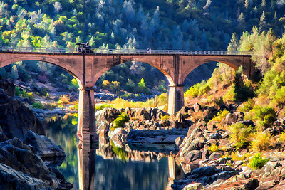 Mountain Quarries Railroad Bridge, Auburn, Ca