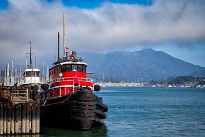 Sausalito Tug Boat Horizontal