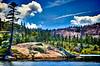 Salmon Lake Lodge, Lakes Basin, Sierra County, Ca.