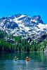 Kayaking Generations on Sardine Lake