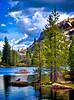Salmon Lake, Lakes Basin, Sierra County