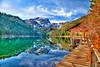 Sardine Lake, Mountain Reflections