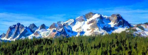 Sierra Buttes 1