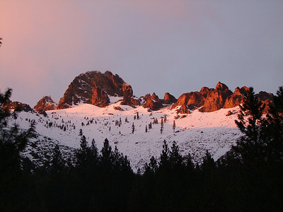 Sierra Buttes Sunset