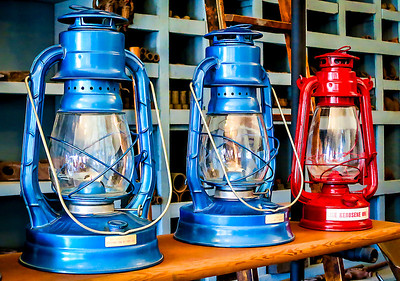 Kerosene Lanterns, Old Town Sacramento