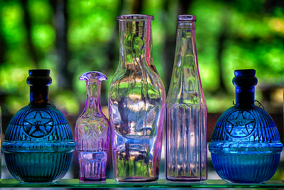 Bottles at Kentucky Mine and Museum