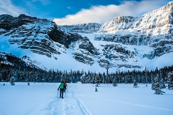 Crowfoot Glacier, Banff, Alberta - Medium