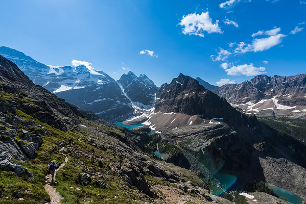 Oesa Lake, Yoho National Park, British Columbia - Large