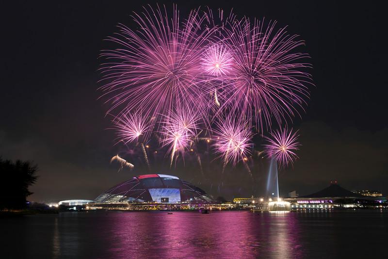 Fireworks @ Sports Hub Singapore