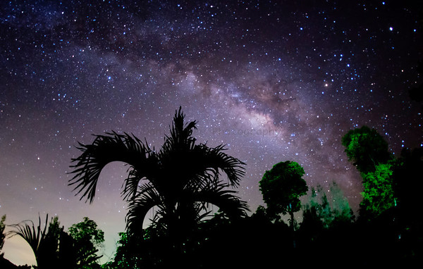 Milky Way At Samarn Bird Camp, KKC, Thailand