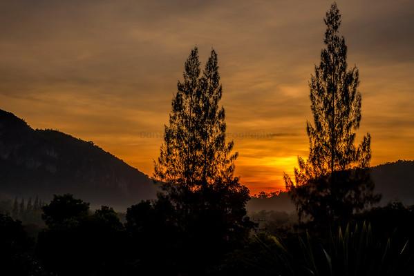 Samarn Bird Camp Sunrise