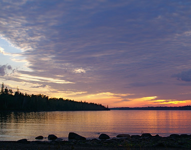 Sunrise On Isle Royale