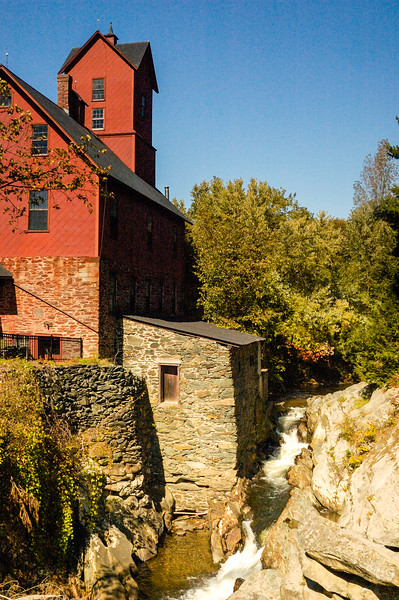 Old Red Mill  Browns River Gorge  Vermont