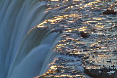 The Edge Of Niagara Falls