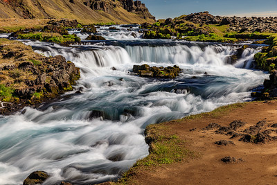 Unnamed Waterfall In Iceland