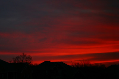 Majestic morning sky
